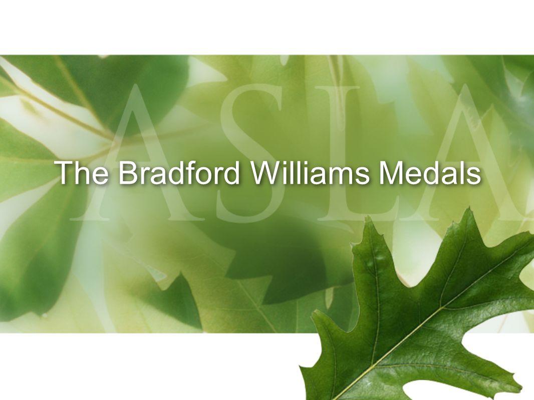 The Bradford Williams Medals