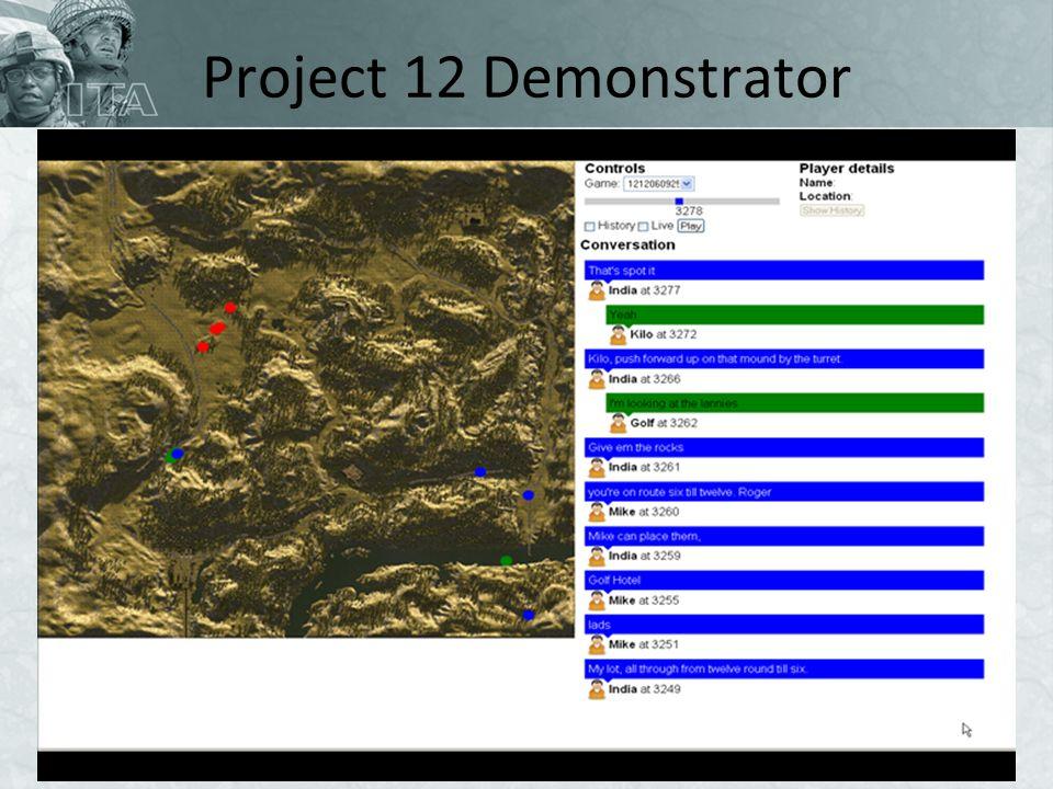 Project 12 Demonstrator