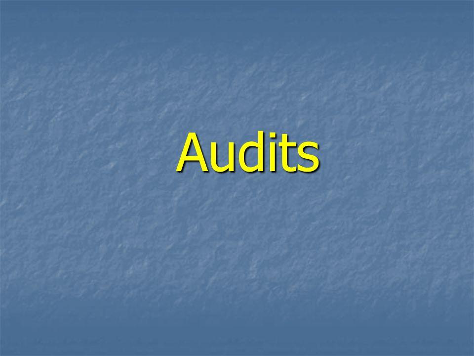 Audits Audits