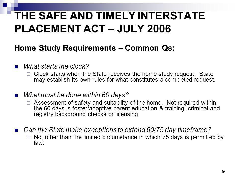 20 CHILD AND FAMILY SERVICES IMPROVEMENT – SEPT 2006 Title IV-B Subpart 1 – adds new State plan requirements, including: a description of how physicians or other appropriate medical professionals are consulted and involved in assessing the health and well-being of foster children and for determining appropriate medical treatment a disaster plan to be in place for programs funded by Title IV-B and IV-E (effective September 28, 2007) a description of standards for the content and frequency of caseworker visits for children in foster care, which at a minimum must be monthly and focus on case planning and service delivery (effective October 1, 2007).