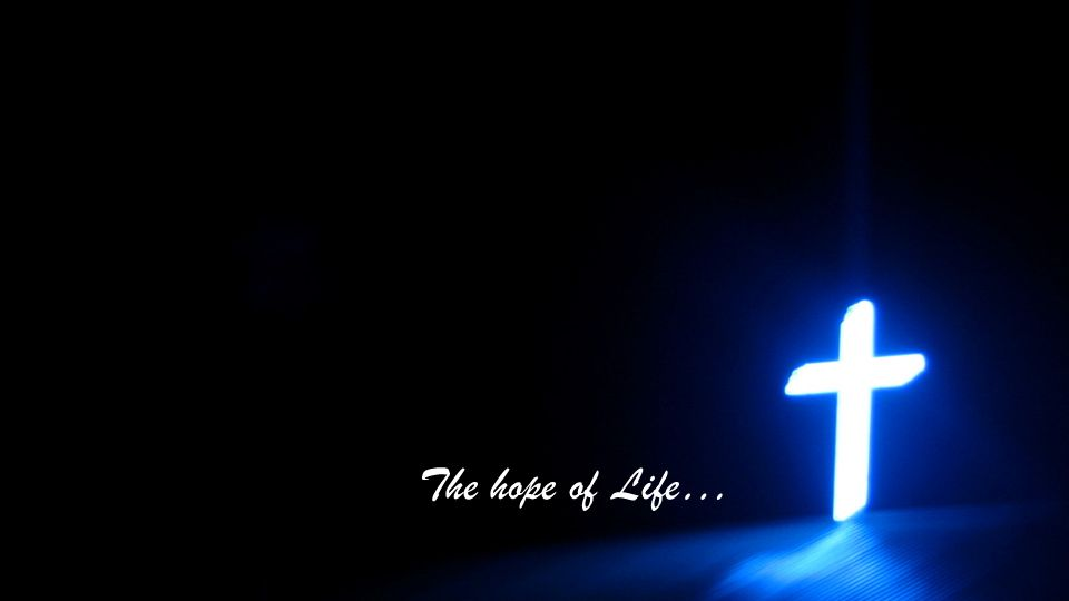 The hope of Life…