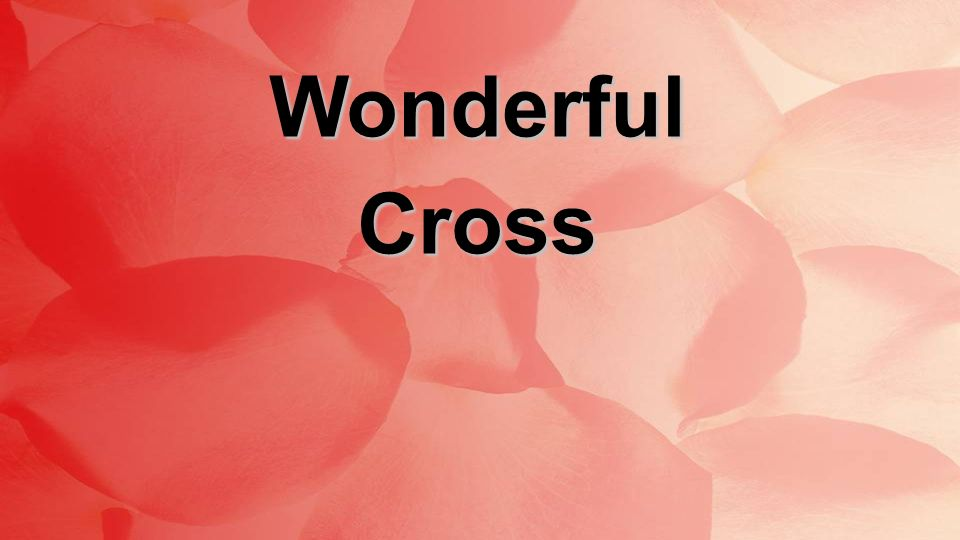 WonderfulCross