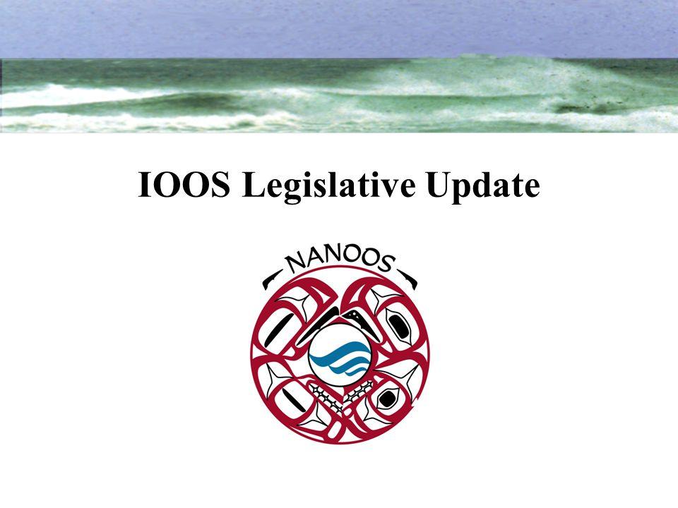 IOOS Legislative Update