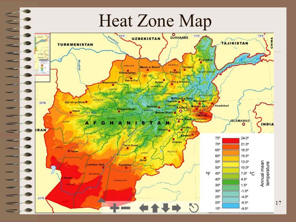 Heat Zone Map 17
