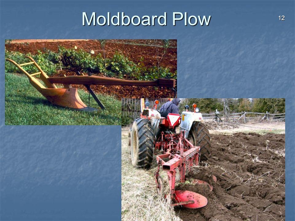 12 Moldboard Plow