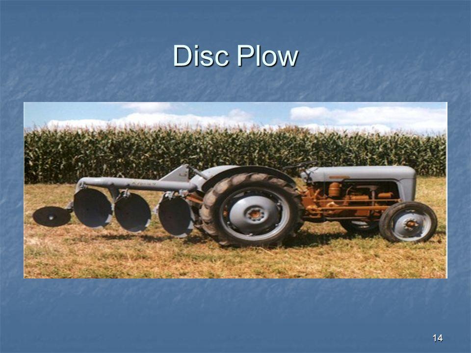 14 Disc Plow