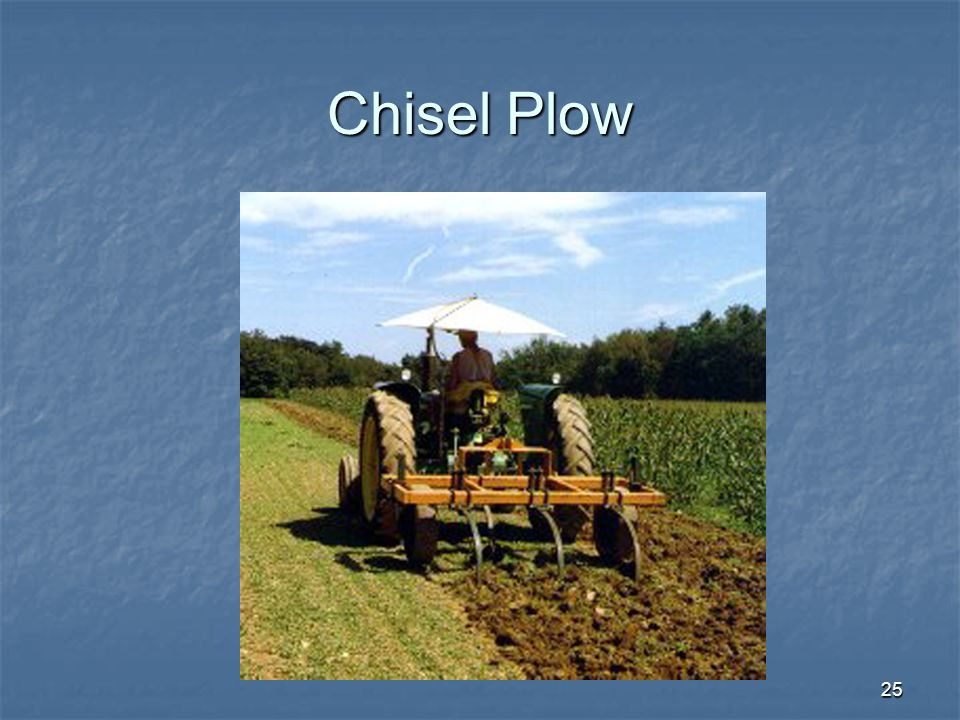 25 Chisel Plow