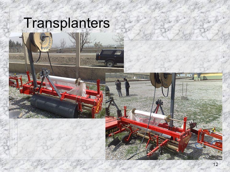 Transplanters 12
