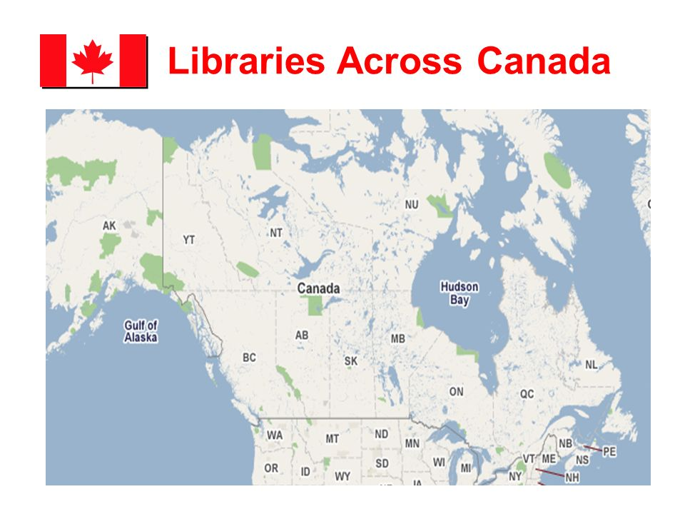 Libraries Across Canada