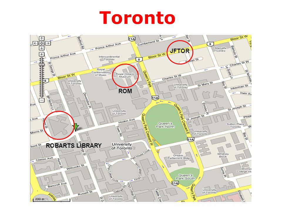 Toronto JFTOR ROBARTS LIBRARY ROM
