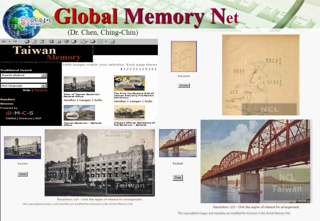 http://www.ncl.edu.tw 21 GSUs genealogical records Over 800 rolls of microfilm with genealogical records on Taiwan As of Dec.