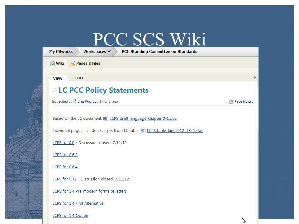 PCC SCS Wiki