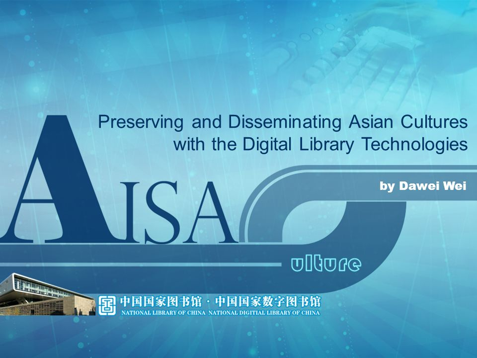 Asian culture has a long history.Libraries in Asian countries have abundant precious collections.
