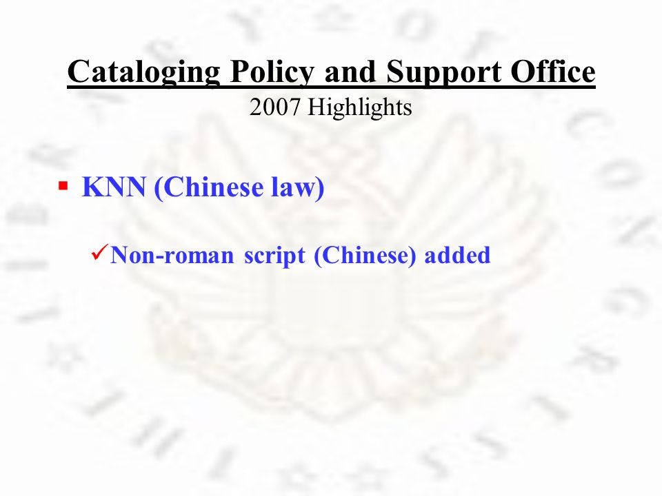 K NN (Chinese law) N on-roman script (Chinese) added