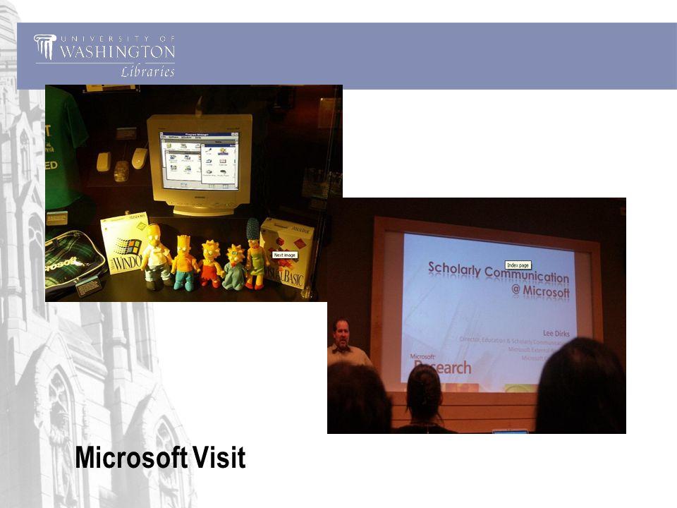 Microsoft Visit