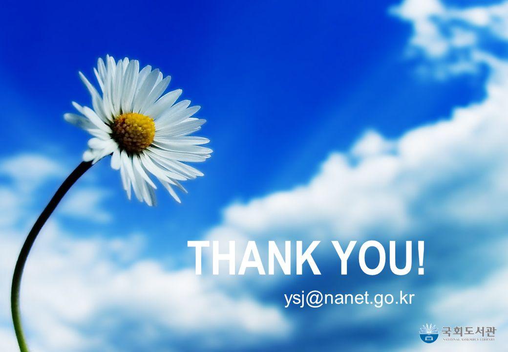 16 THANK YOU! ysj@nanet.go.kr
