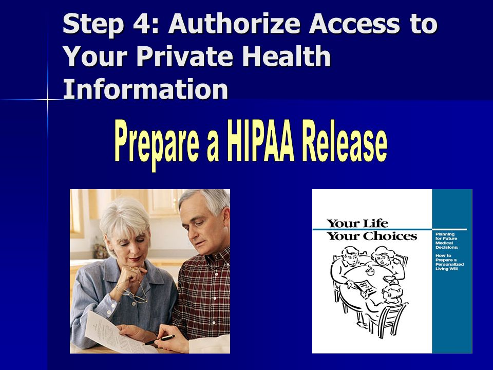 What is a HIPAA Release.