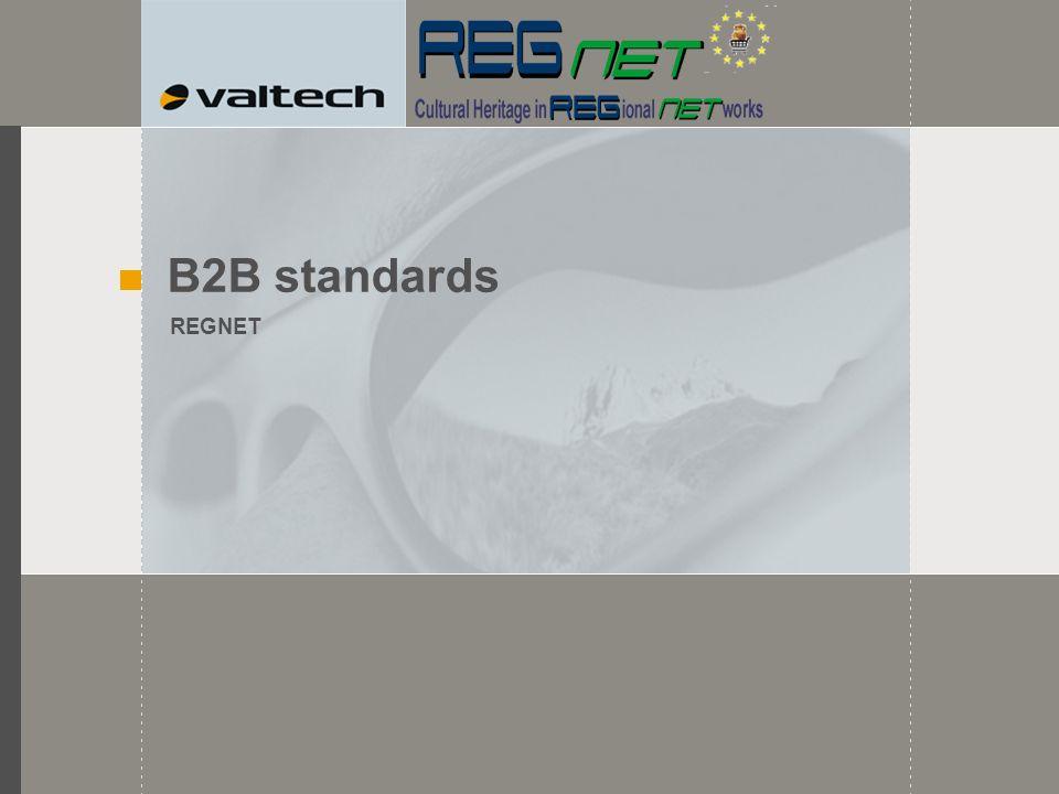 B2B standards REGNET