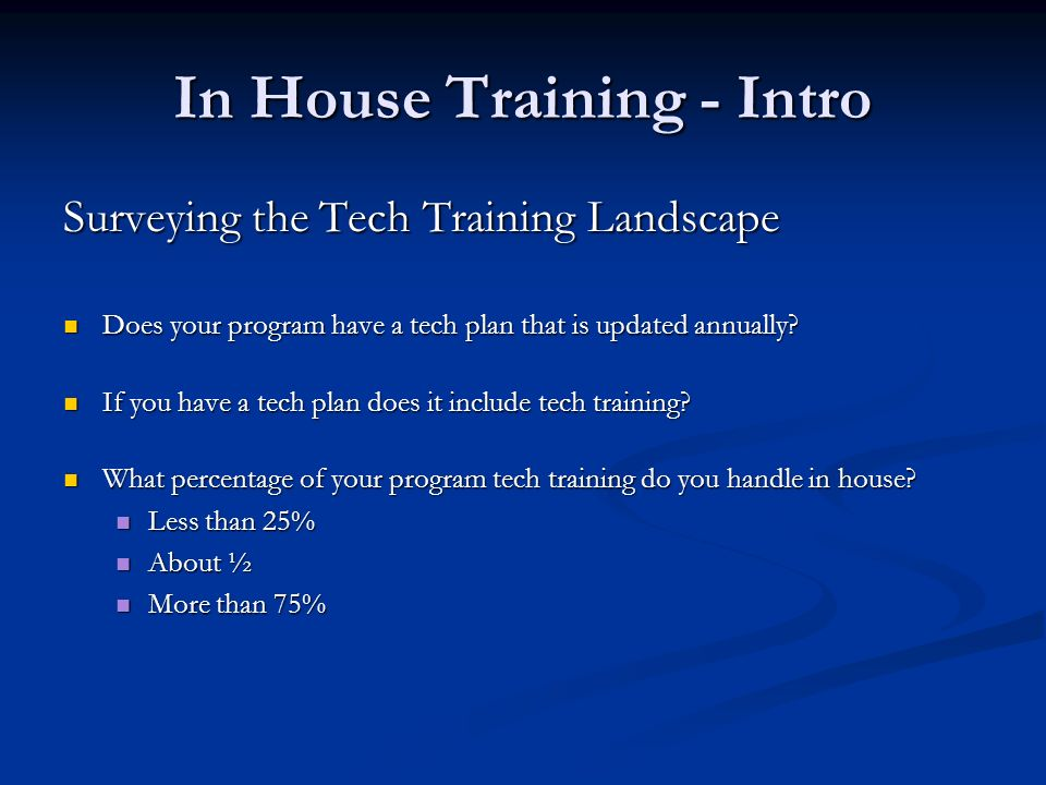 Out House Options Out House Options Self Directed Training Virtual Training Center - Bar Foundation purchased group subscription to online software training service for Michigan legal aid programs.