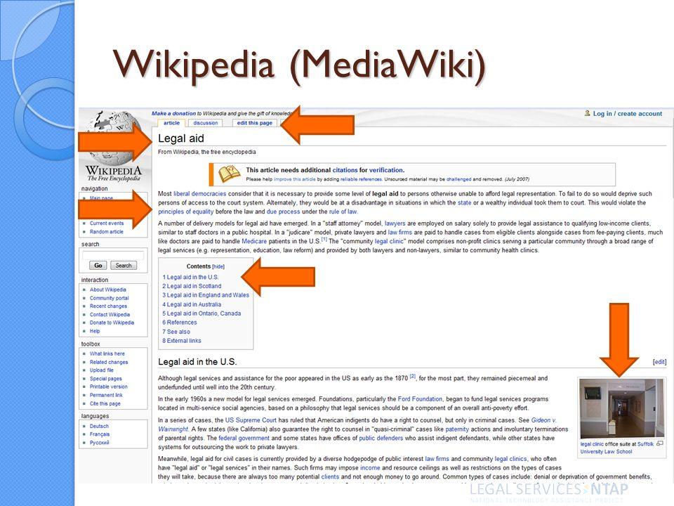 Wikipedia (MediaWiki)