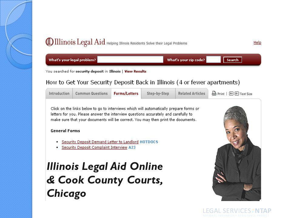 Illinois Legal Aid Online & Cook County Courts, Chicago
