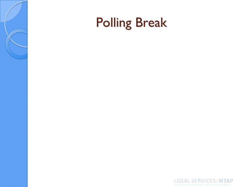 Polling Break