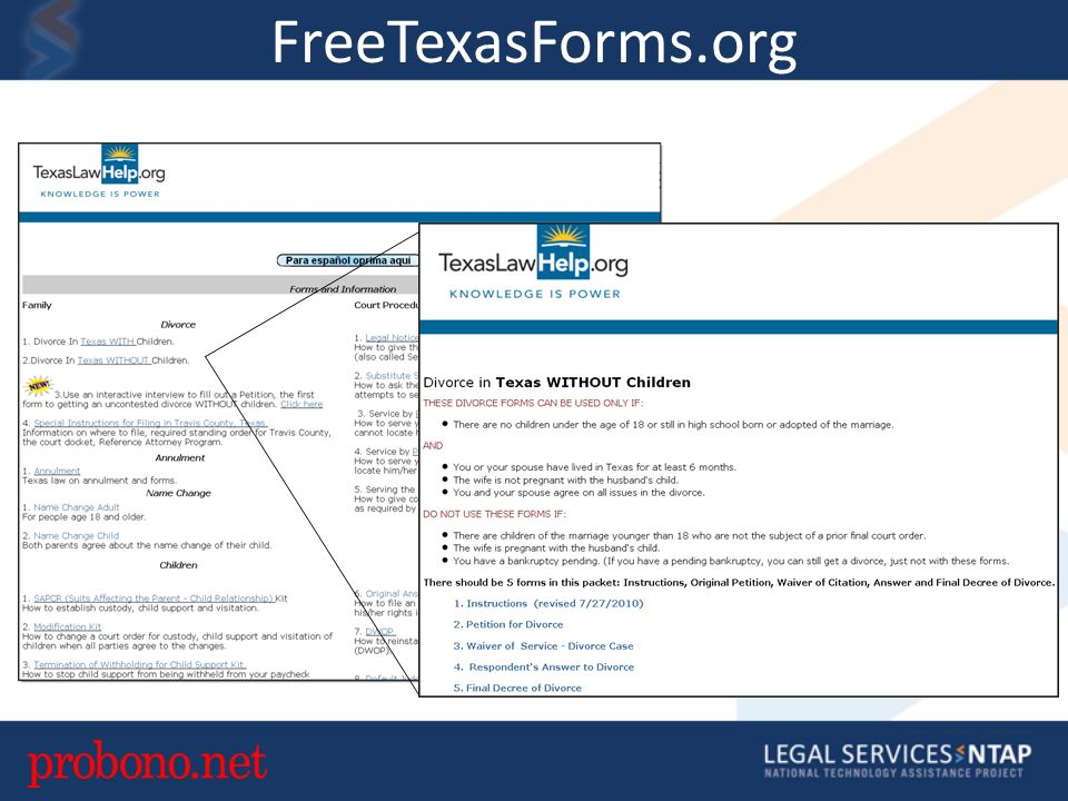FreeTexasForms.org