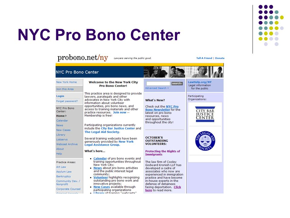 NYC Pro Bono Center