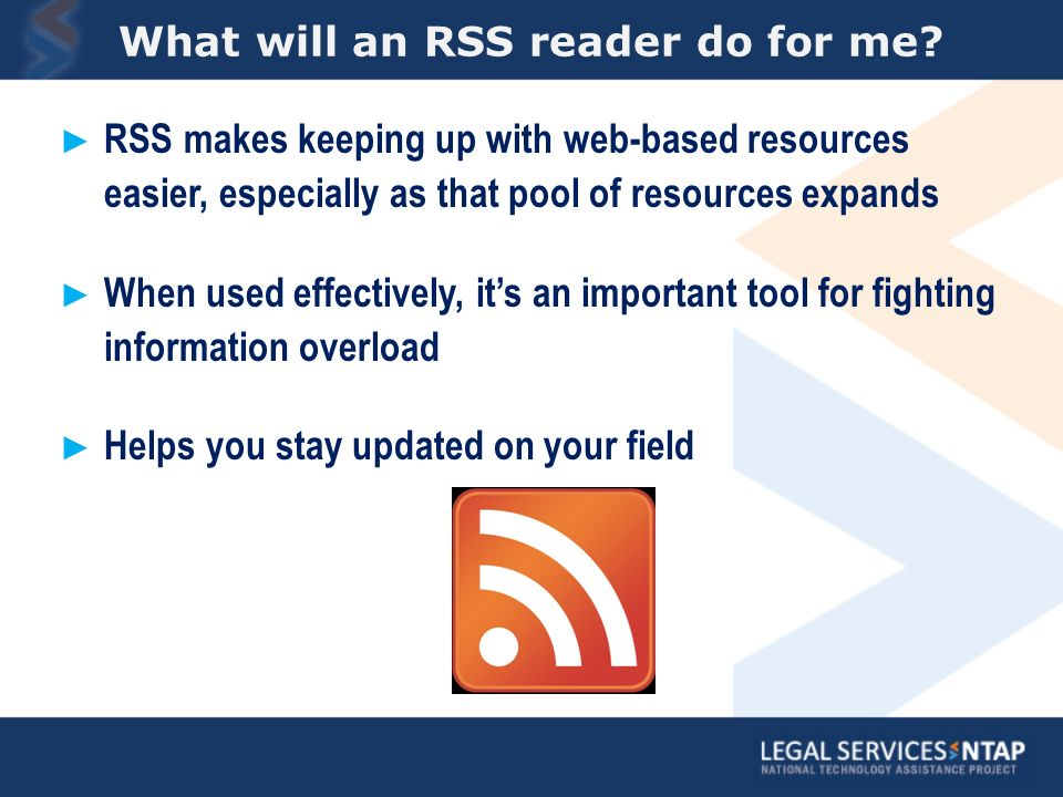 What will an RSS reader do for me.