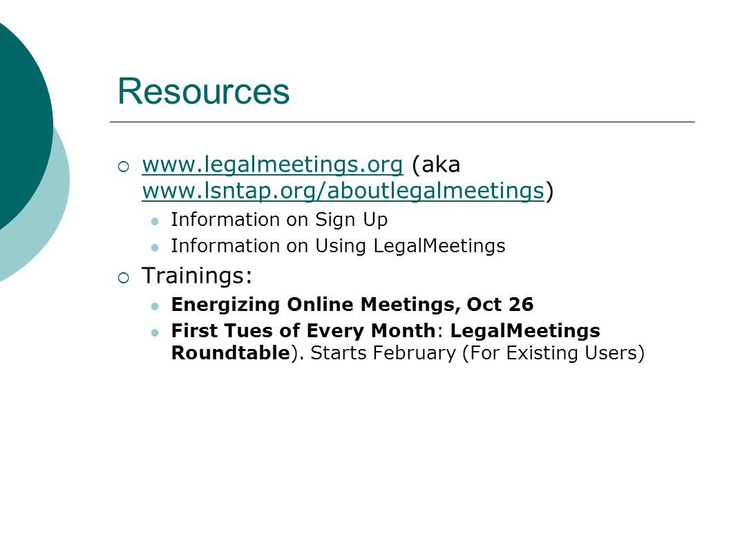 Resources Sign up for an account at survey.lstech.org Trainings and resources available in the lsntap.org resource libraryavailable Sign up for upcoming NTAP trainings on using the survey tool February 15, 2007 November 16, 2007 ADVANCED training for current users only: TBA (likely March and December) Email support: madhu@lsntap.orgmadhu@lsntap.org