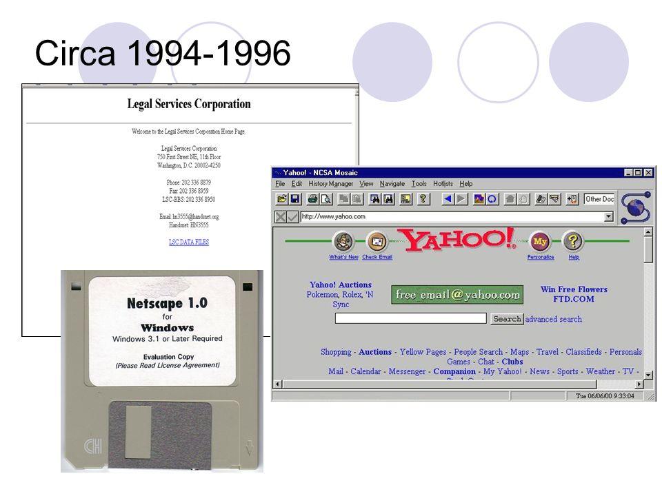 Circa 1994-1996