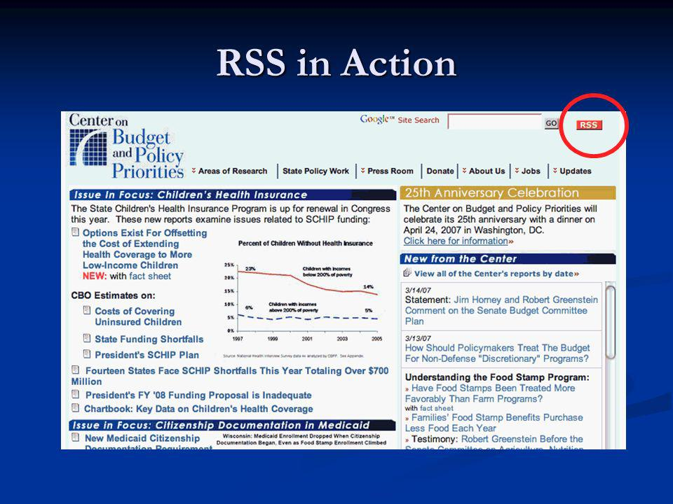 RSS in Action