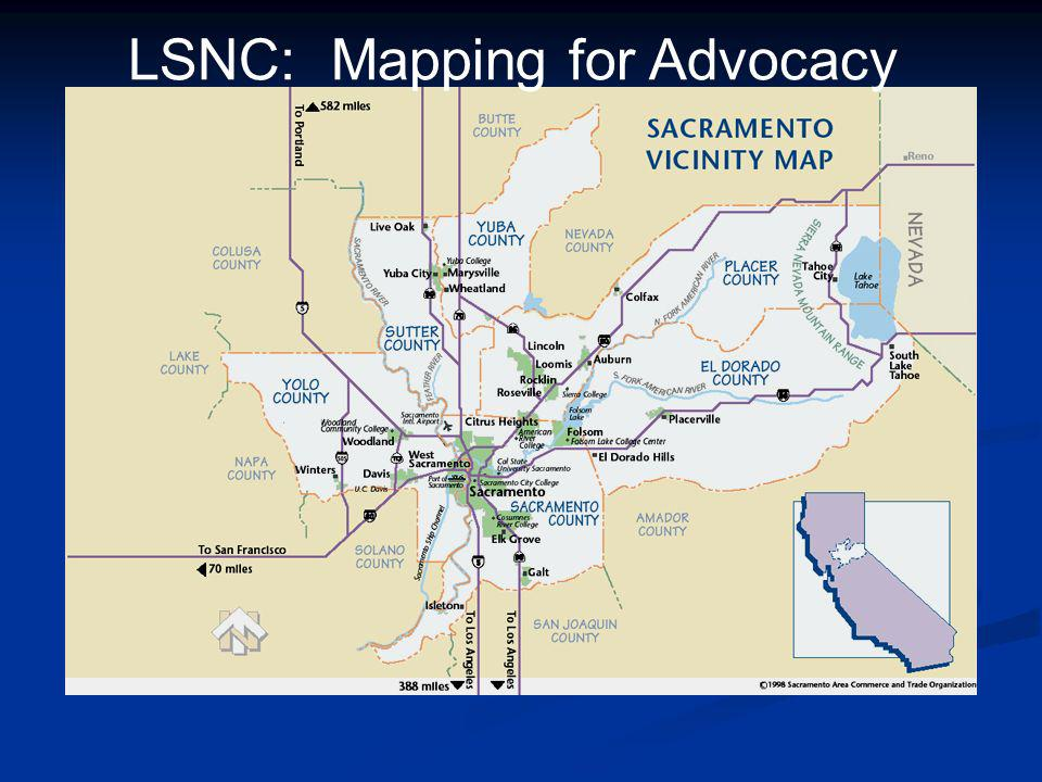 LSNC: Mapping for Advocacy