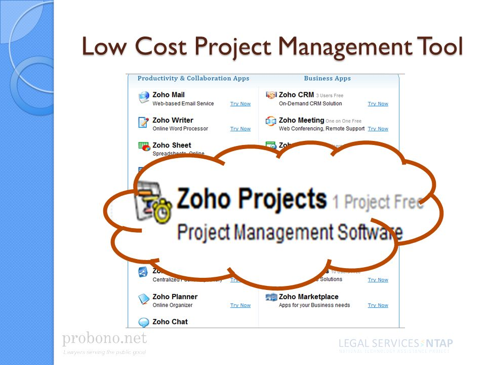 Low Cost Project Management Tool