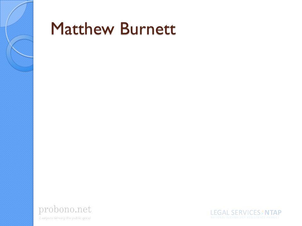 Matthew Burnett