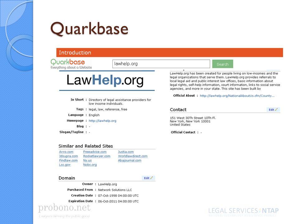 Quarkbase