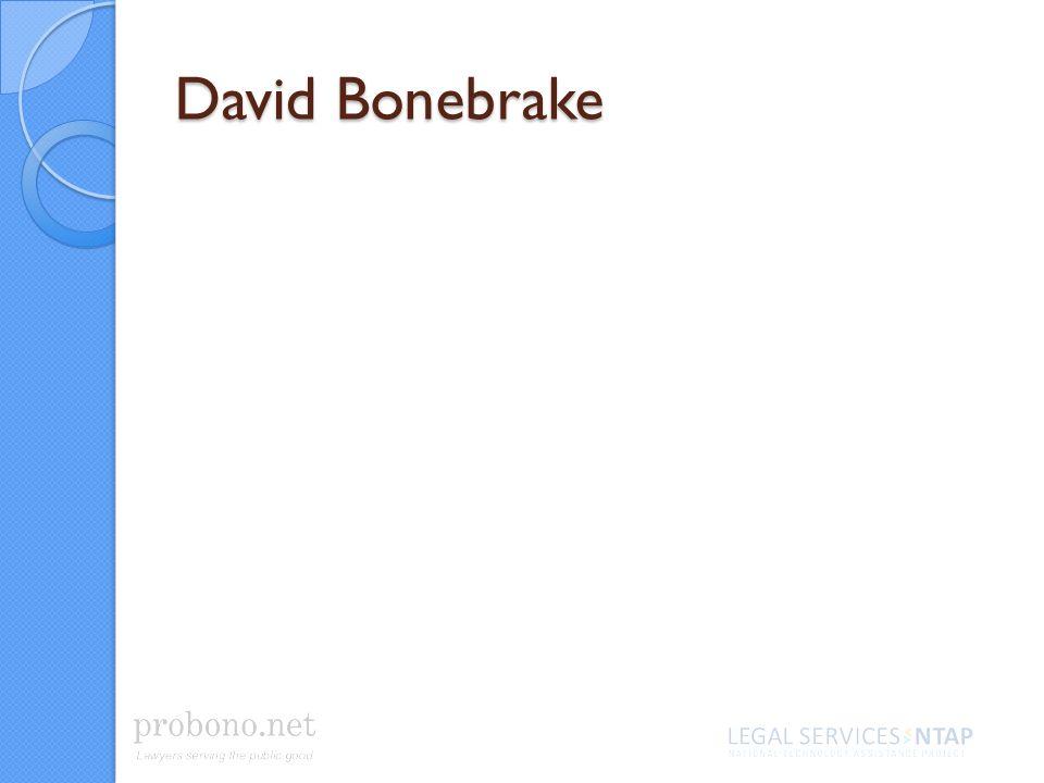 David Bonebrake