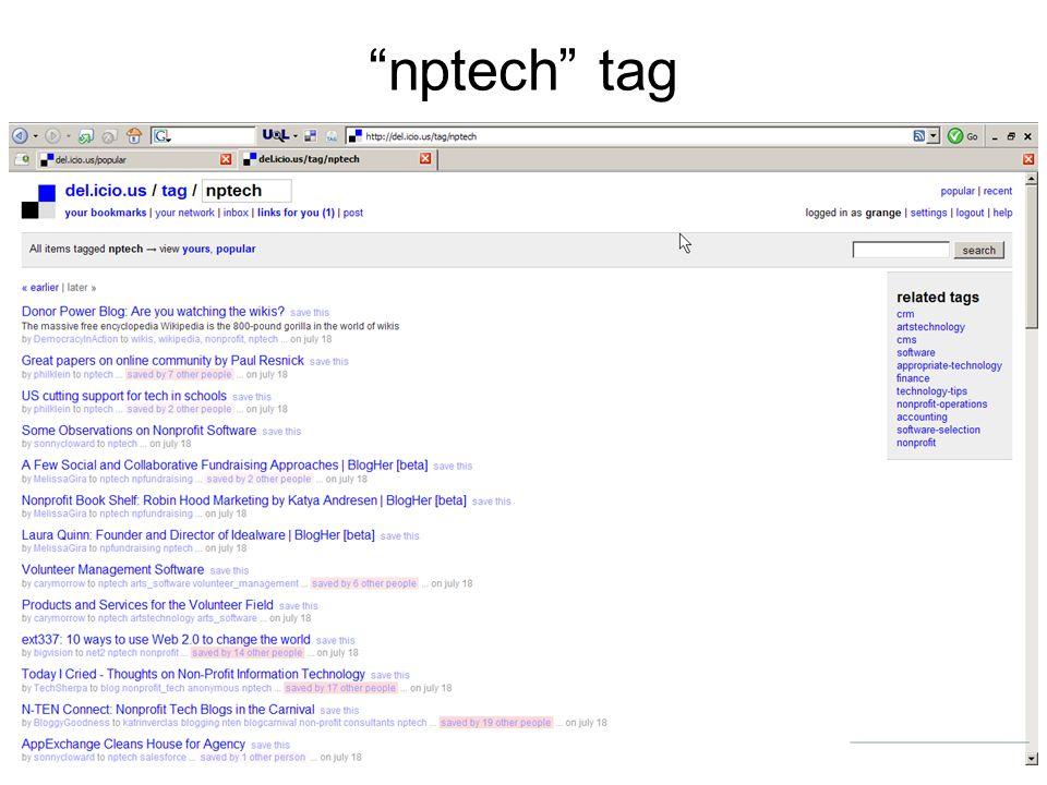 nptech tag