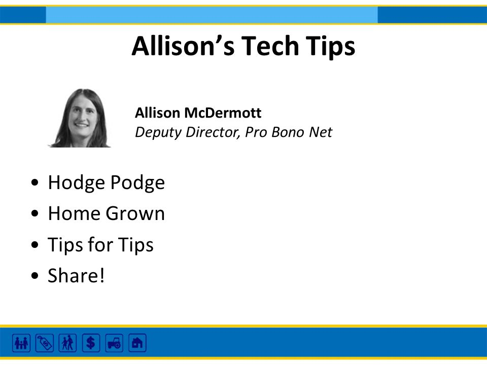 Allisons Tech Tips Hodge Podge Home Grown Tips for Tips Share.
