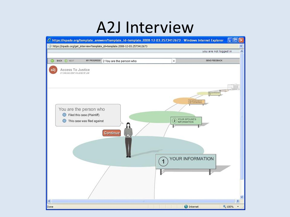A2J Interview