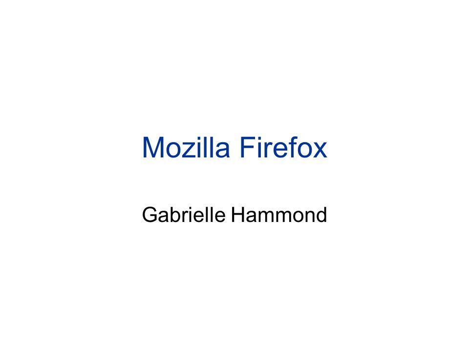 Mozilla Firefox Gabrielle Hammond