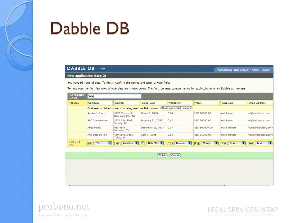 Dabble DB