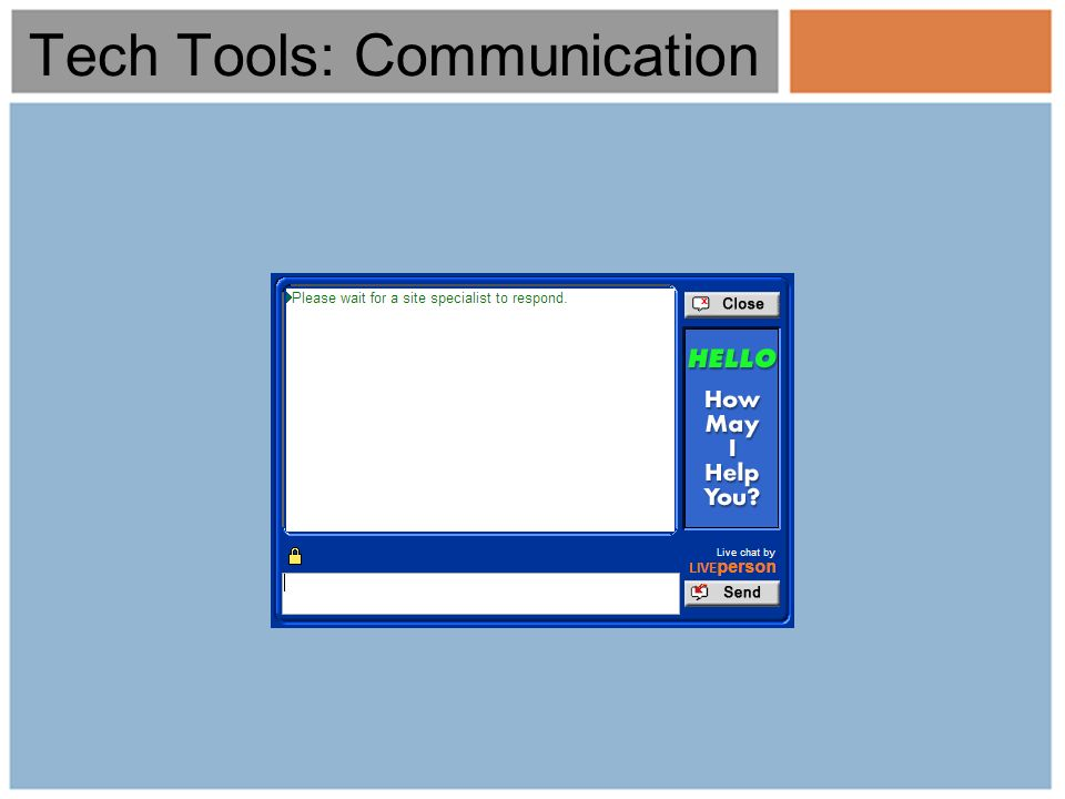 Tech Tools: Communication