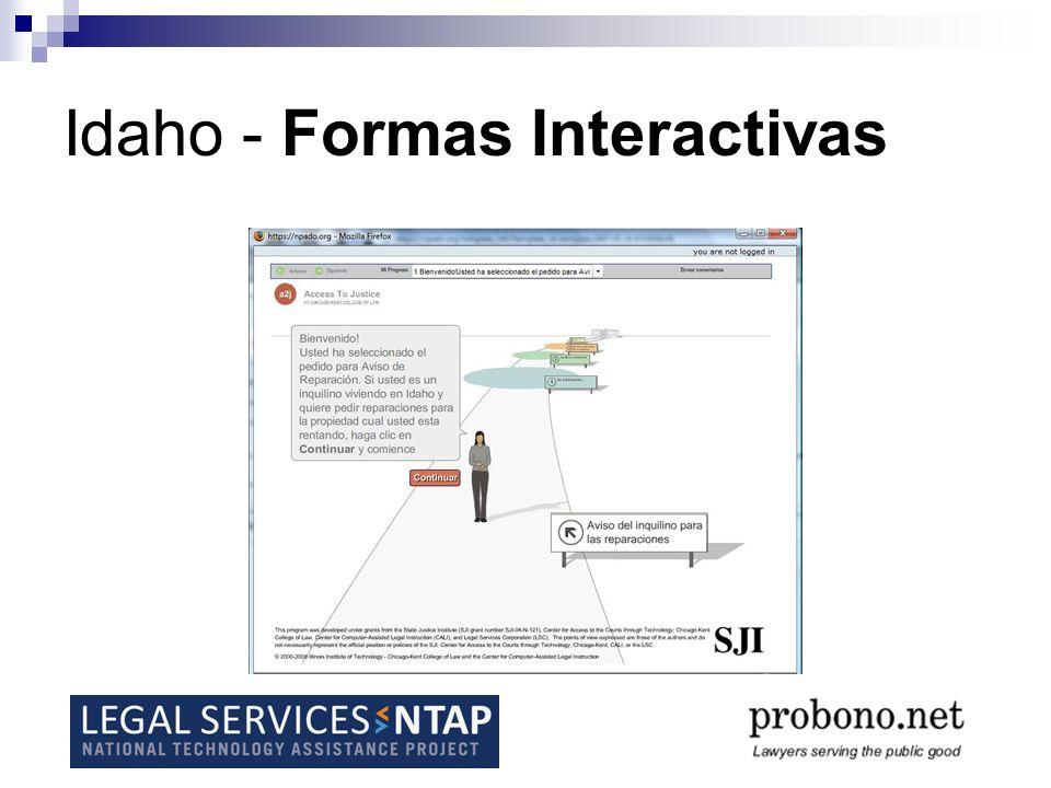 Idaho - Formas Interactivas