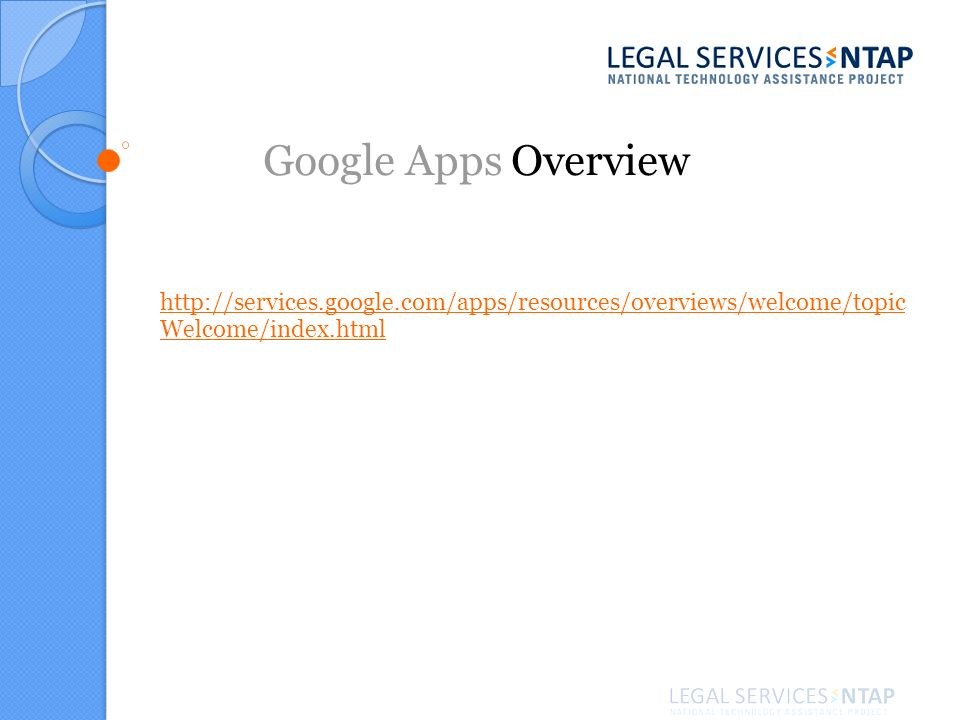 http://services.google.com/apps/resources/overviews/welcome/topic Welcome/index.html Google Apps Overview
