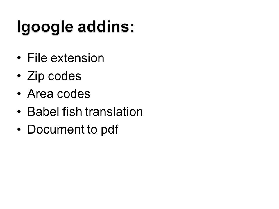 File extension Zip codes Area codes Babel fish translation Document to pdf