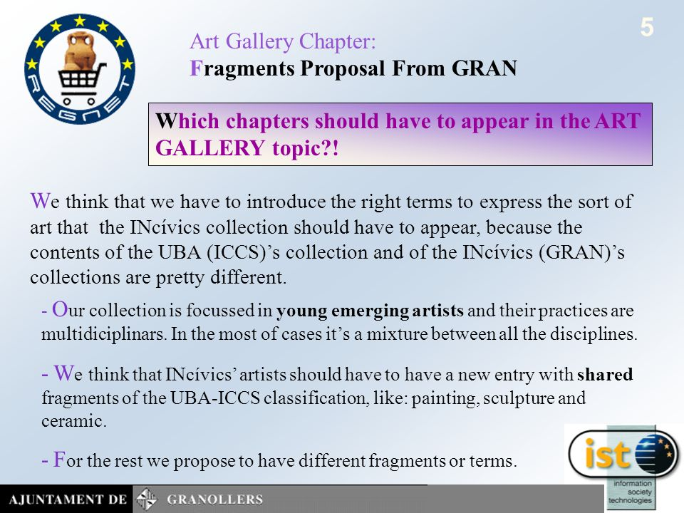 June 2002 SofiaART GALLERY CHAPTERS - FRAGMENTS 4 Present status: 1.