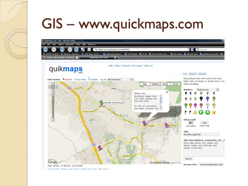 GIS – www.quickmaps.com
