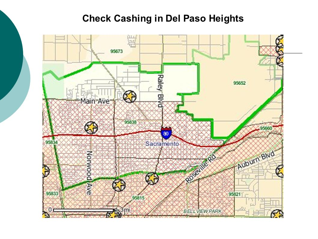 Check Cashing in Del Paso Heights