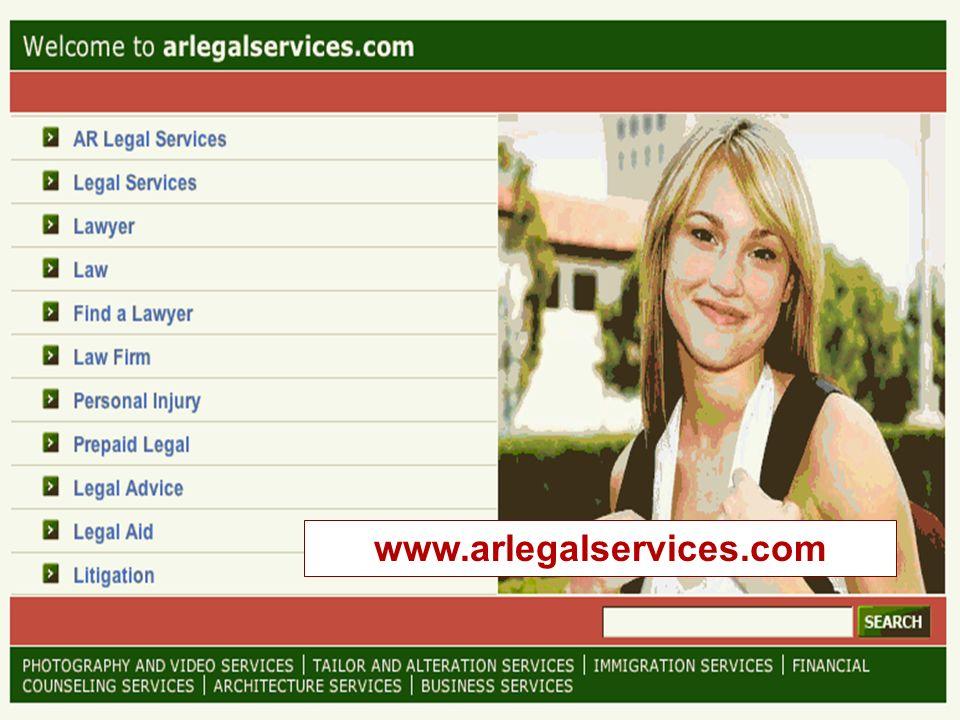 Legal Services NTAP www.lsntap.org 7 www.arlegalservices.com